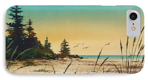 Return To The Shore IPhone Case by James Williamson