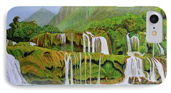Returned To Paradise IPhone Case by Thu Nguyen