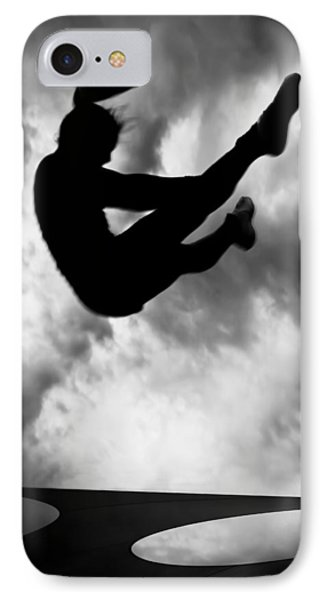 Returning To Earth IPhone Case by Bob Orsillo
