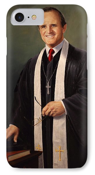Rev John Miles IPhone Case