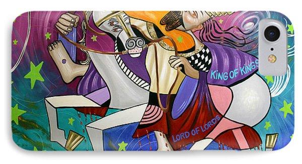 Revelation 19 11-16 IPhone Case by Anthony Falbo