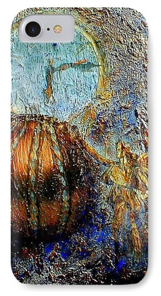 IPhone Case featuring the mixed media Revelation by Gail Kirtz