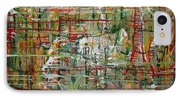 IPhone Case featuring the painting Revelation by Jacqueline Athmann