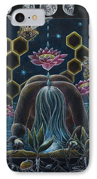 Reverence  Connection  Protection IPhone Case by Sheri Howe