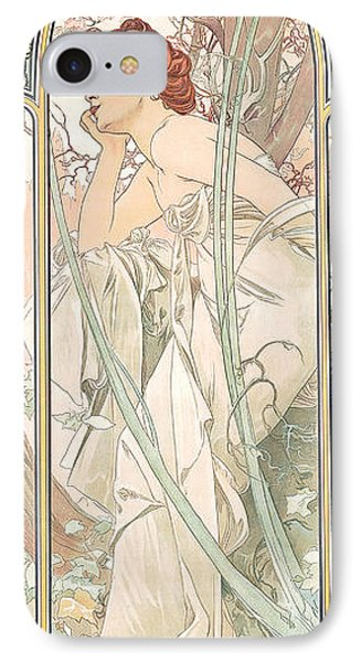 Reverie Du Soir IPhone Case by Alphonse Marie Mucha