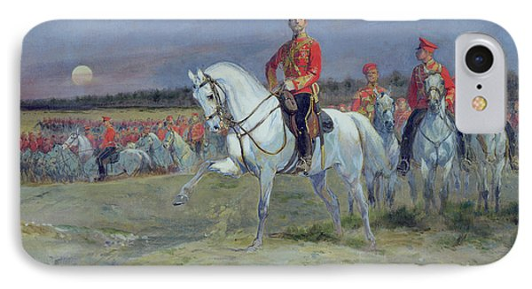 Reviewing The Troops Phone Case by Jean Baptiste Edouard Detaille