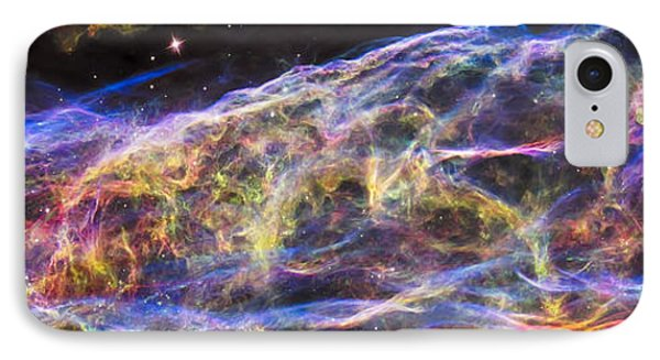 IPhone 7 Case featuring the photograph Revisiting The Veil Nebula by Adam Romanowicz