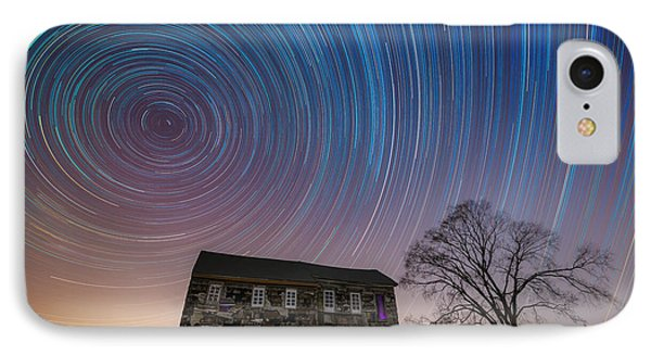 Revolutionary War House Star Trails IPhone Case