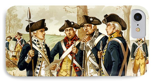 Revolutionary War Infantry Phone Case by War Is Hell Store