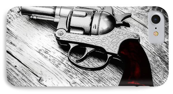 Revolver IPhone Case by Wim Lanclus