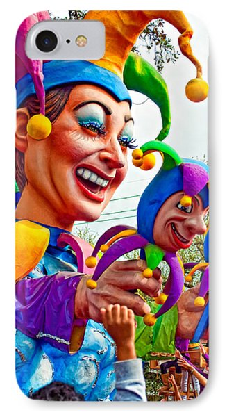 Rex Mardi Gras Parade Xi Phone Case by Steve Harrington