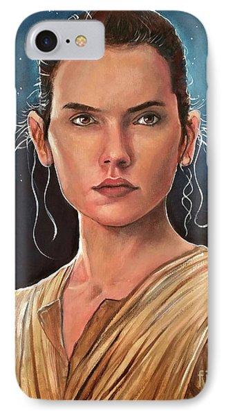Rey IPhone Case by Tom Carlton