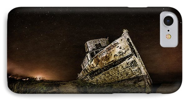 IPhone Case featuring the photograph Reyes Shipwreck by Everet Regal