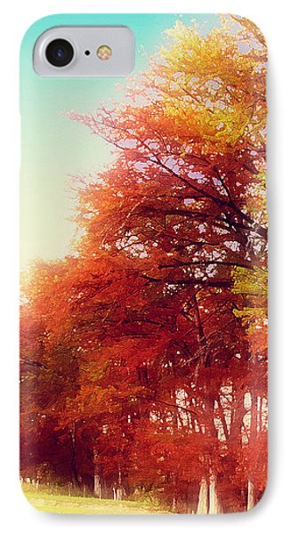 IPhone Case featuring the digital art Rhapsody In Fall by Wendy J St Christopher