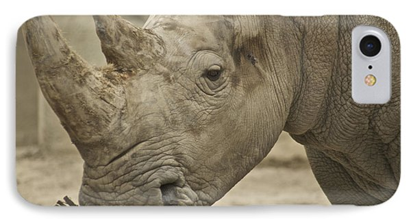 Rhino Phone Case by Michael Peychich