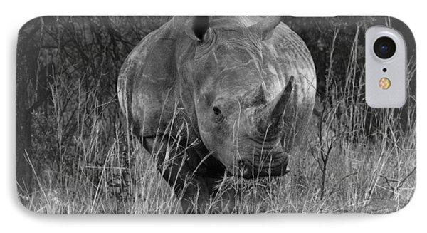 Rhino IPhone Case by Patrick Kain