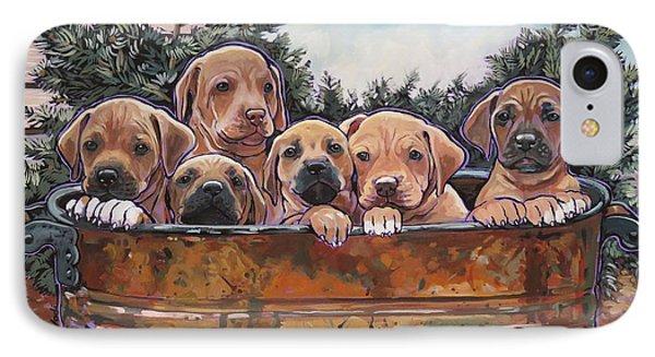 Rhodesian Ridgeback Puppies IPhone Case