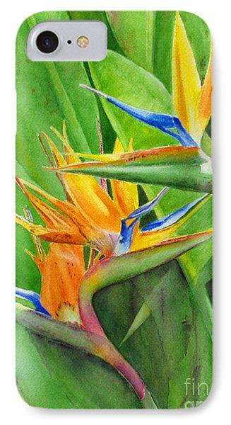 Rhonica's Garden IPhone Case by Karen Fleschler
