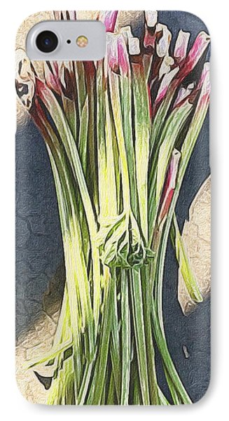 Rhubarb IPhone Case by Michele Meehl