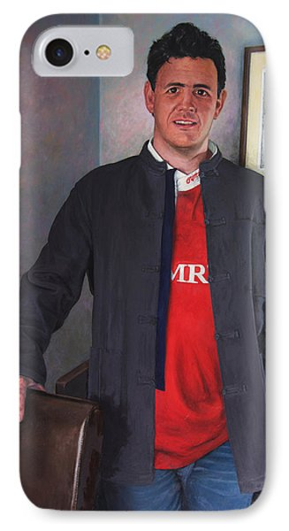 Rhys Meirion Phone Case by Harry Robertson