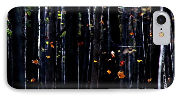 Rhythm Of Leaves Falling IPhone Case by Bruce Patrick Smith