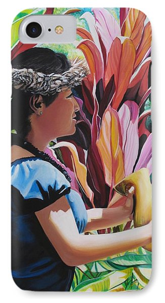 Rhythm Of The Hula IPhone Case by Marionette Taboniar