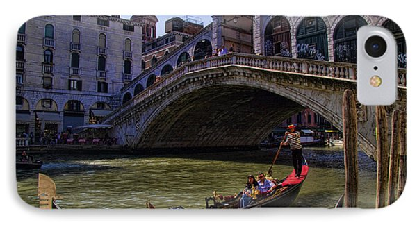 Rialto Bridge In Venice Italy IPhone Case