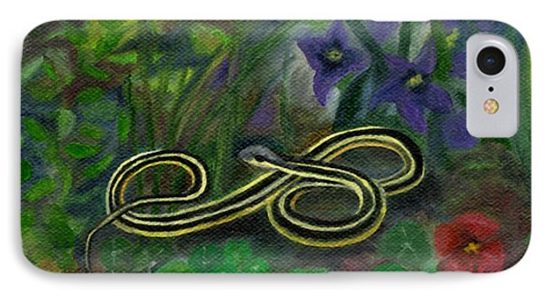 Ribbon Snake IPhone Case by FT McKinstry
