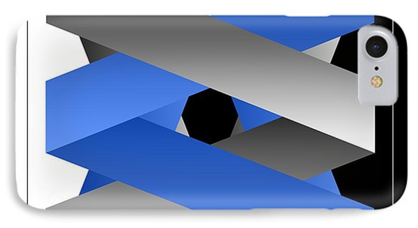 IPhone Case featuring the digital art Ribbons by Leo Symon