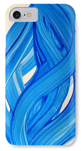 Ribbons Of Love-blue IPhone Case