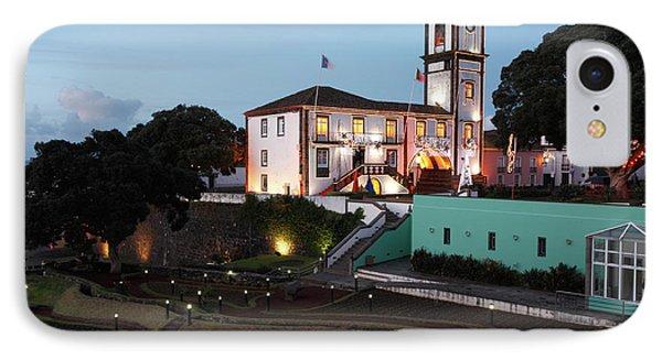 Ribeira Grande Town Hall Phone Case by Gaspar Avila