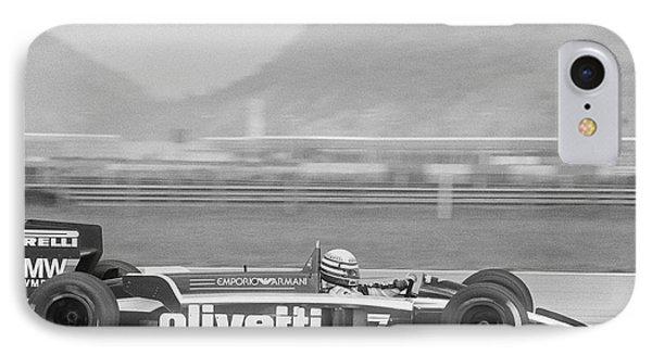 Riccardo Patrese. 1986 Brazilian Grand Prix IPhone Case