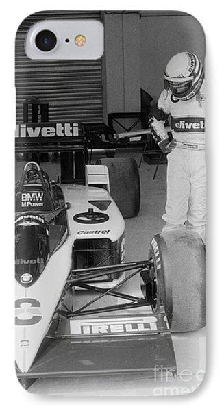 Riccardo Patrese. 1986 Spanish Grand Prix IPhone Case