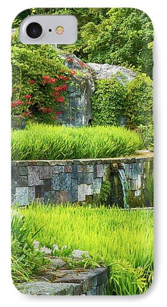 Rice Garden IPhone Case by Wim Lanclus