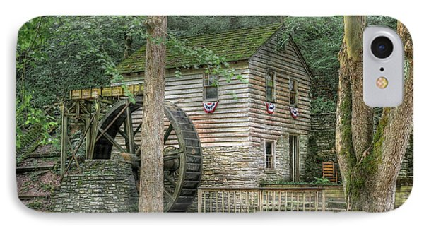 IPhone Case featuring the photograph Rice Grist Mill 2017 by Douglas Stucky