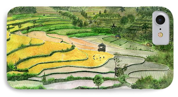 Ricefield Terrace II IPhone Case