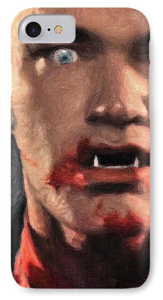 Richie Rising - From Dusk Till Dawn IPhone Case by Taylan Apukovska