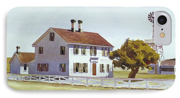 Rich's House IPhone Case by Edward Hopper