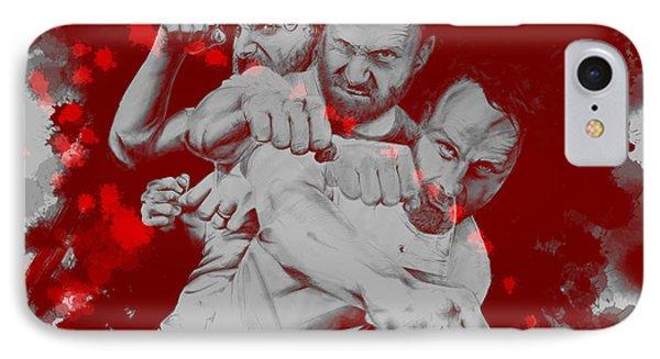 Rick Grimes Phone Case by David Kraig