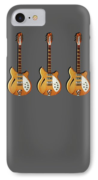 Rickenbacker 360 12 1964 IPhone 7 Case by Mark Rogan