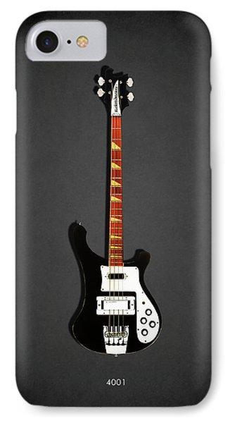 Guitar iPhone 7 Case - Rickenbacker 4001 1979 by Mark Rogan