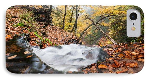 Ricketts Glen State Park Ganoga Falls Allegheny Mountains Pennsylvania Phone Case by Mark VanDyke