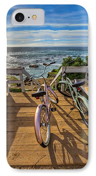 Ride With Me To The Beach IPhone Case by Peter Tellone