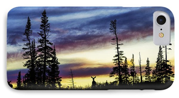 Ridge Sihouette IPhone Case by Chad Dutson