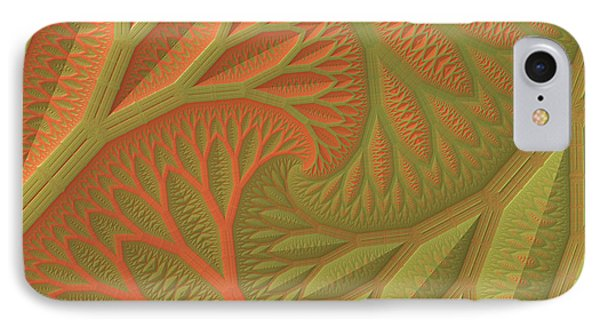 IPhone Case featuring the digital art Ridges And Valleys by Lyle Hatch
