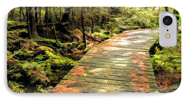 Ridges Sanctuary Boardwalk IPhone Case