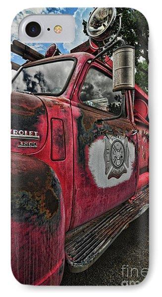 Ridgway Fire Truck IPhone Case