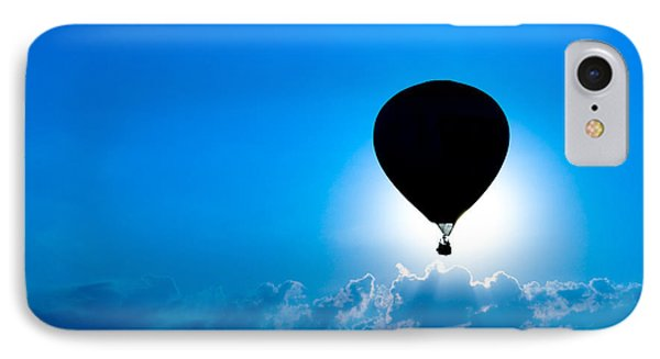 Riding The Clouds IPhone Case by Todd Klassy