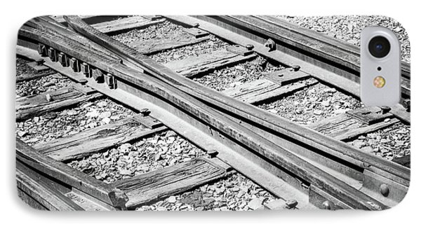 IPhone Case featuring the photograph Riding The Rail by Colleen Coccia