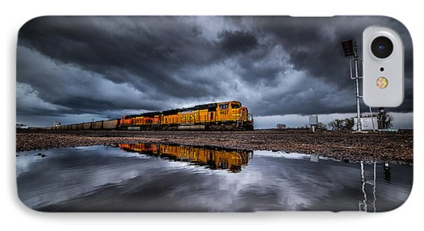 Riding The Storm Out IPhone Case by Darren  White